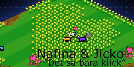 Nafina och Jicko i Hundparken