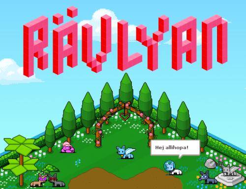 rävlyan spel virtuell chattvärld